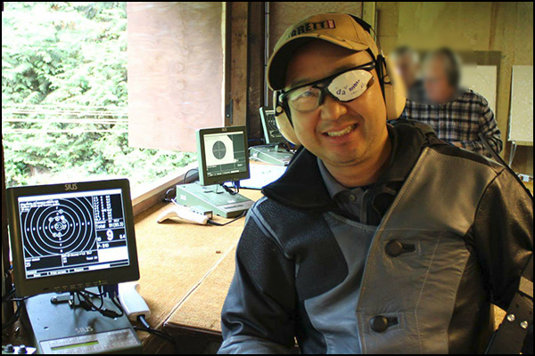 Dr. Richard Cho died in a tragic accident yesterday during a shooting competition.