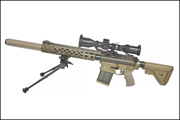 This is the rifle that won the U.S. Army SASS competition.