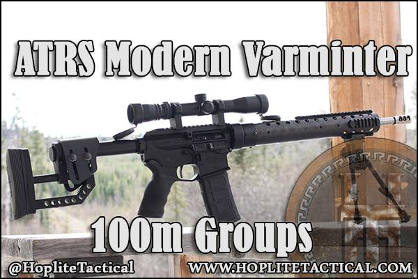 We shoot the ATRS Modern Varminter for 5 sets of 100m groups.