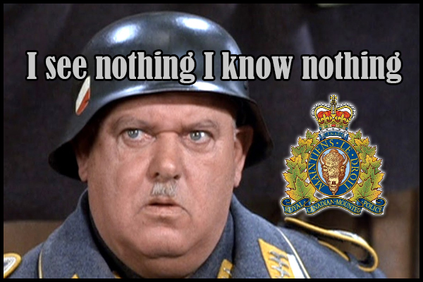 "Do the RCMP really not know the amount of rifles in country, or like Sgt Schultz do they ""see nothing, know nothing""?"