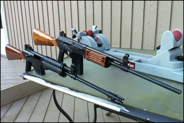 Valmet Hunter conversions to M76 and Galil.